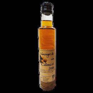 Vinaigre de vin BIO aromatisé au citron de Vendée 250ml