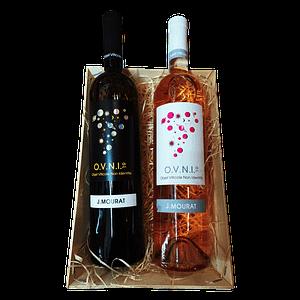 Panier gourmand vins de France OVNI