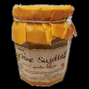 Crème Sugette – Confiture BIO de Vendée à base de mandarine