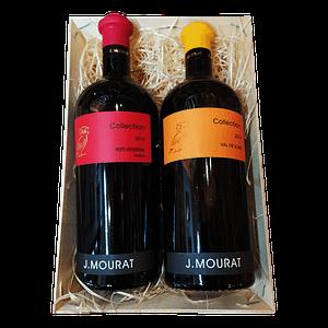 Panier gourmand vins de Vendée et de Loire – Coffret Collection MOURAT
