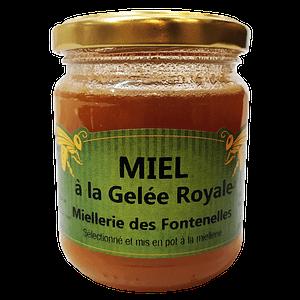 Miel à la Gelée Royale de Vendée 250g