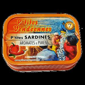 Sardines les p'tites vendéennes aromates & piment