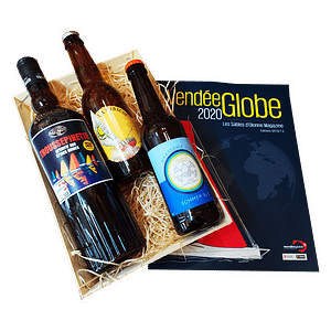 Panier gourmand Vendée Globe vin et bières éditions spéciales – Les Sables d'Olonne