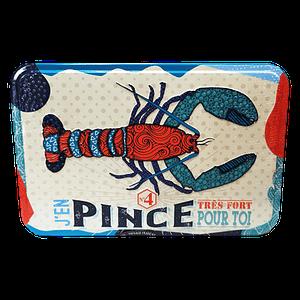Boîte métallique homard assortiment palets et galettes