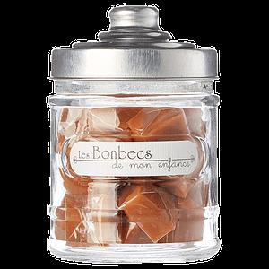 Caramels à la Fleur de Sel bocal en verre – Les Bonbecs de mon Enfance 200g