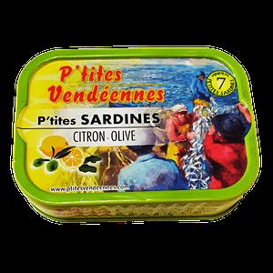 Sardines les p'tites vendéennes citron – olive