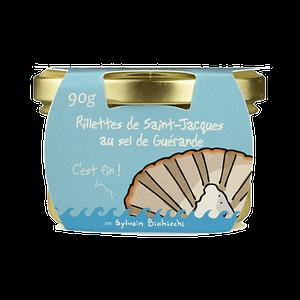 Rillettes de Poissons de Saint Jacques au Sel de Guerande Ty-Gwenn packaging humoristique