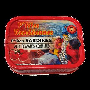 Sardines les p'tites vendéennes aux tomates confites